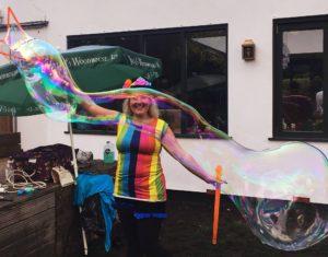 bubble-show-party