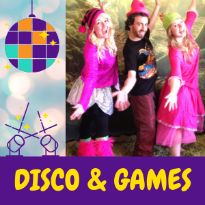 childrens-disco-party Sussex, Surrey, Hampshire, Kent or London