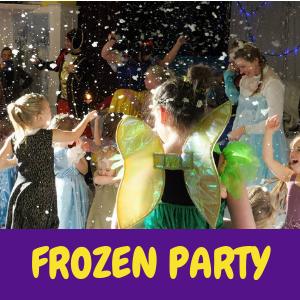 frozen-childrens-party-entertainer Sussex, Surrey, Hampshire, Kent or London