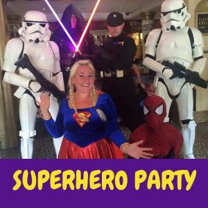 superhero-kids-party-entertainer Sussex, Surrey, Hampshire, Kent or London