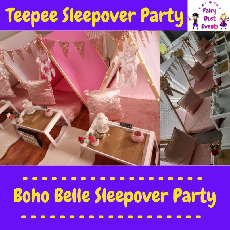 boho-chic-tween-teen-sleepover-teepee-party