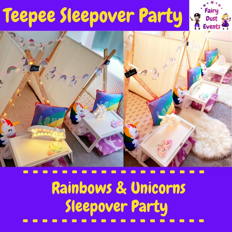 ainbow-unicorn-sleepover-teepee-party
