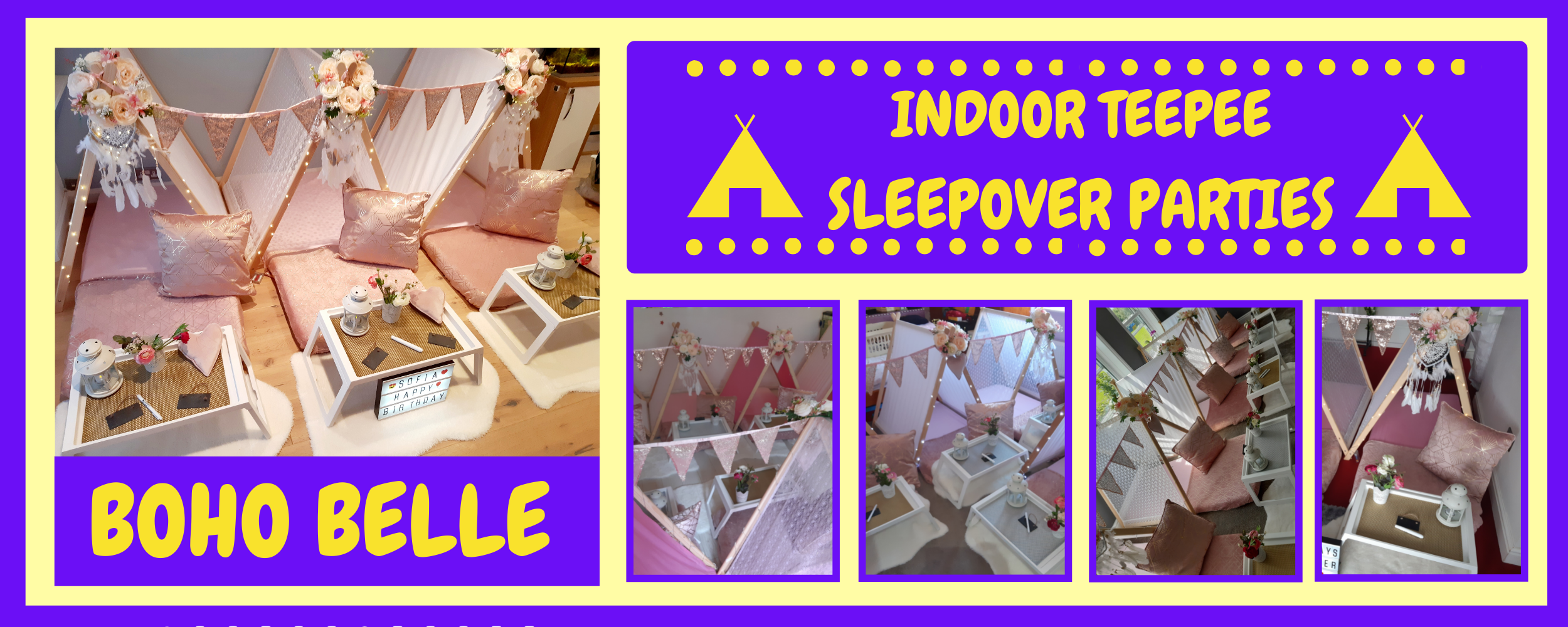 sleepover-party-teepee-tent-hire